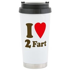 I love farting Travel Coffee Mug