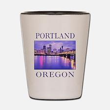 Unique Portland Shot Glass