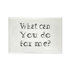 What can You do? Rectangle Magnet