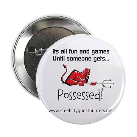 """SCGH Possessed (wht) 2.25"""" Button"""