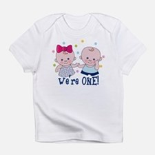 We're One Boy & Girl Infant T-Shirt