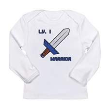 Level 1 Warrior Long Sleeve Infant T-Shirt