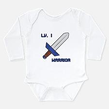 Level 1 Warrior Long Sleeve Infant Bodysuit
