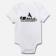 Wildlife Coexist Infant Bodysuit
