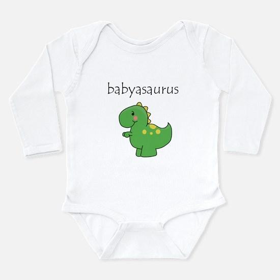 Babyasaurus Dinosaur Onesie Romper Suit