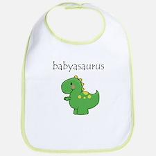 Babyasaurus Dinosaur Bib