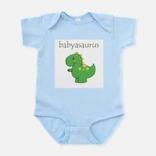 Babyasaurus Dinosaur Infant Bodysuit