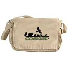 Wildlife Coexist Messenger Bag