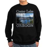 Crater lake Sweatshirt (dark)