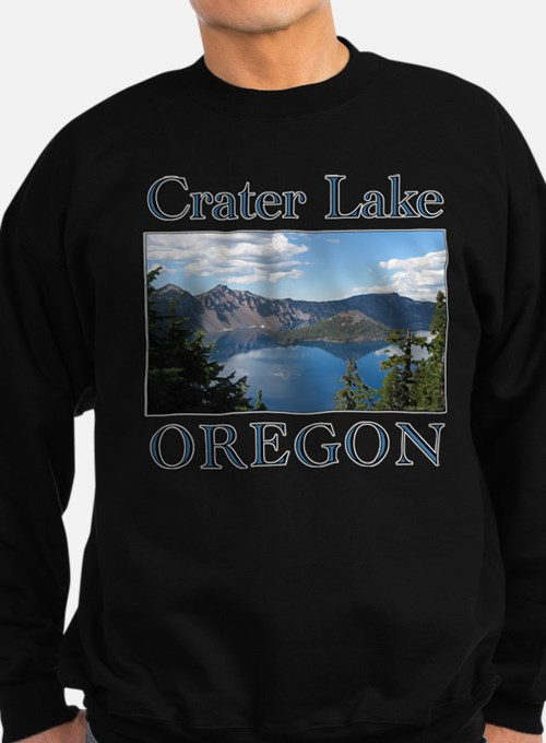Cute Crater lake Sweatshirt (dark)