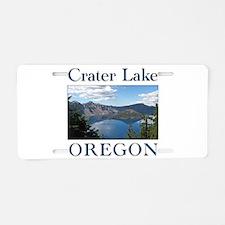Unique Oregon Aluminum License Plate