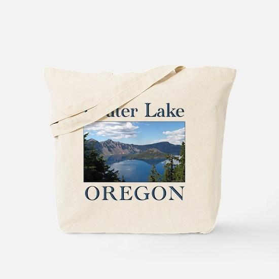 Cute Crater lake Tote Bag