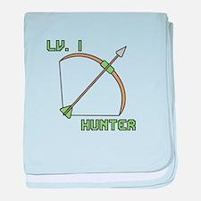 Level 1 Hunter baby blanket