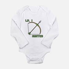 Level 1 Hunter Long Sleeve Infant Bodysuit