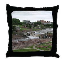 Summer At The Falls 3 Throw Pillow