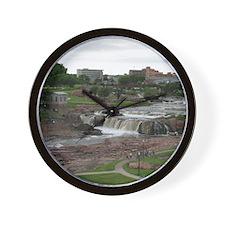 Summer At The Falls 3 Wall Clock