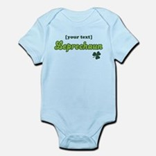 PERSONALIZE Leprechaun Infant Bodysuit
