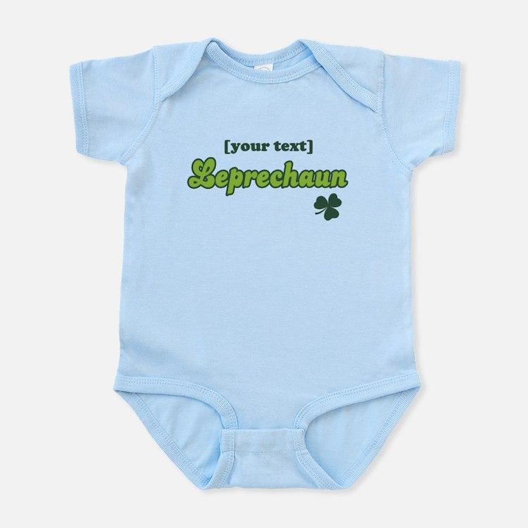 PERSONALIZE Leprechaun Infant Bodysuit