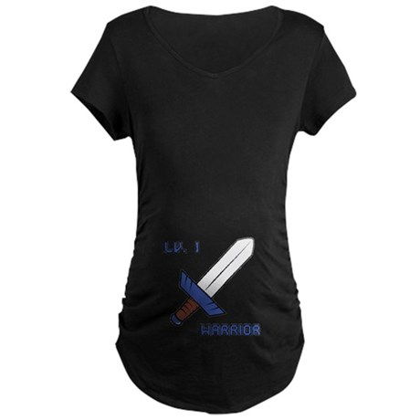 Level 1 Warrior Maternity Dark T-Shirt