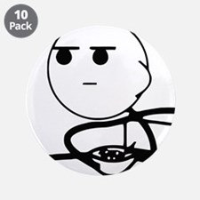 "Cereal Guy Squint 3.5"" Button (10 pack)"