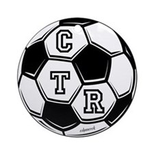 Ornament (Round): Play Ball 1