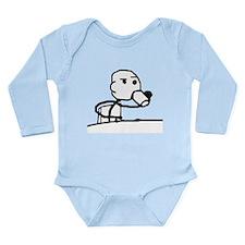 Cereal Guy Sip Long Sleeve Infant Bodysuit