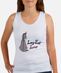 Color Long-Ear Lover Women's Tank Top