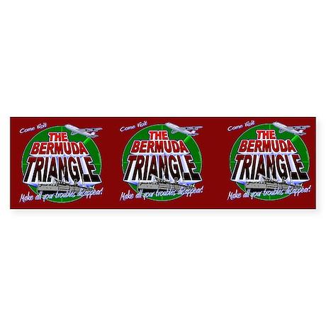 Bermuda Triangle 3 Pack Sticker Sheet
