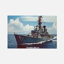 USS HOEL Rectangle Magnet