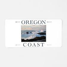 Cute Oregon Aluminum License Plate