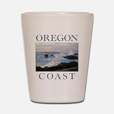 Cute Pacific ocean Shot Glass