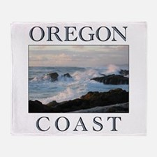 Unique Oregon Throw Blanket
