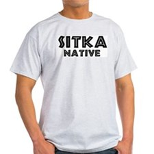 Sitka Native Ash Grey T-Shirt
