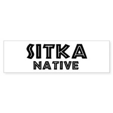 Sitka Native Bumper Bumper Sticker