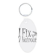 I Fix $7 Haircuts Keychains