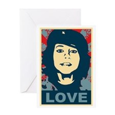 Boxxy Love Greeting Card