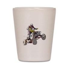 ATV Racing (color) Shot Glass