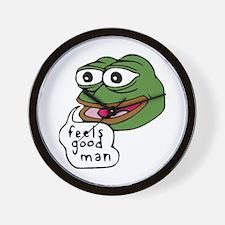 Feels Good Man Wall Clock