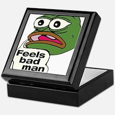 Feels Bad Man Keepsake Box