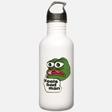 Feels Bad Man Water Bottle