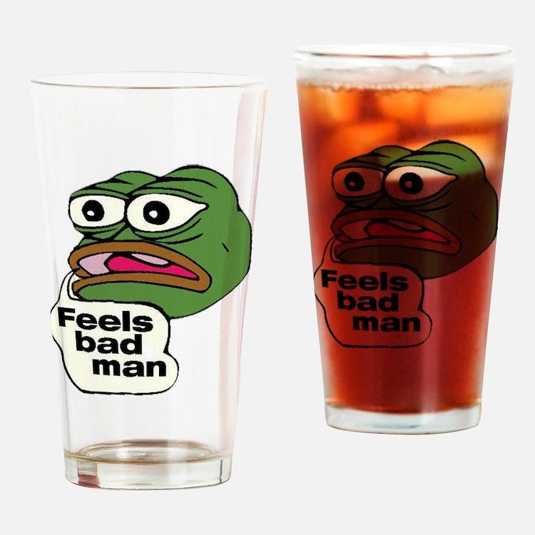Feels Bad Man Drinking Glass