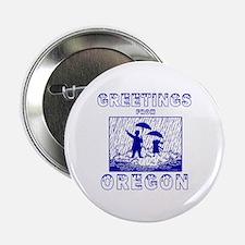 """Cute Eugene oregon 2.25"""" Button"""