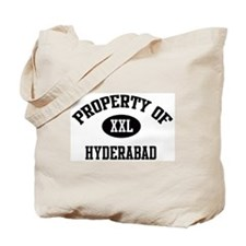 Property of Hyderabad Tote Bag