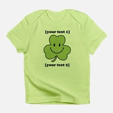 [Your text] Shamrock Smiley Infant T-Shirt