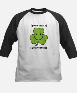 [Your text] Shamrock Smiley Tee