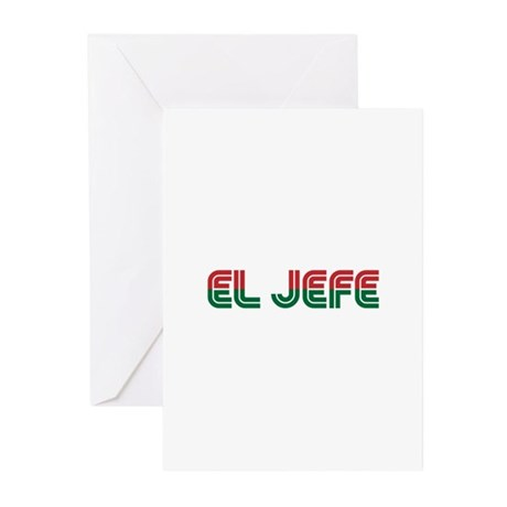 El Jefe Greeting Cards (Pk of 10)