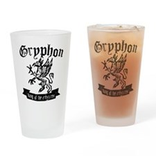 Gryphon Drinking Glass
