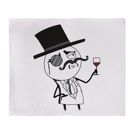 Feel Like a Sir - Indeed Throw Blanket