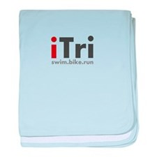 iTri Triathlon Shirts & Appar baby blanket