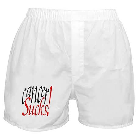 Cancer Sucks! Boxer Shorts